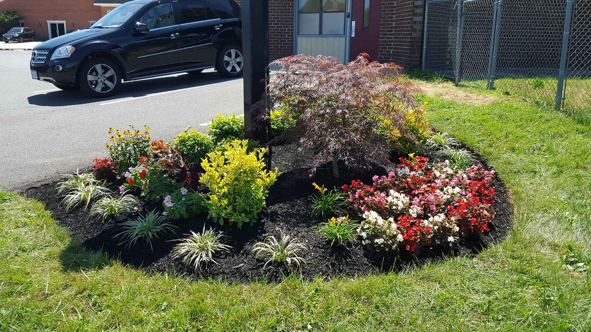 Commercial property landscaping in Bristow, VA
